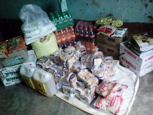 DELIVERY FROM NATIONAL HEALTH INSURANCE SERVICE STAFF
